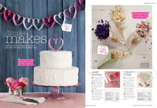 How to make pretty confetti cones for petal confetti at weddings how to make paper cones for petal confetti wedding flowers magazine mightylinksfo
