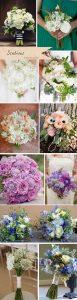 scabious wedding bridal bouquets