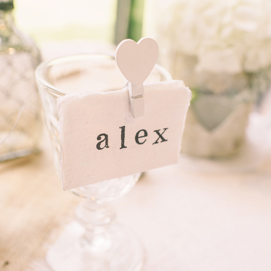Fork place card holders the wedding of my dreamsthe for Place cards for wedding