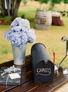 Vintage Wedding Mailbox Wedding Cards American Style