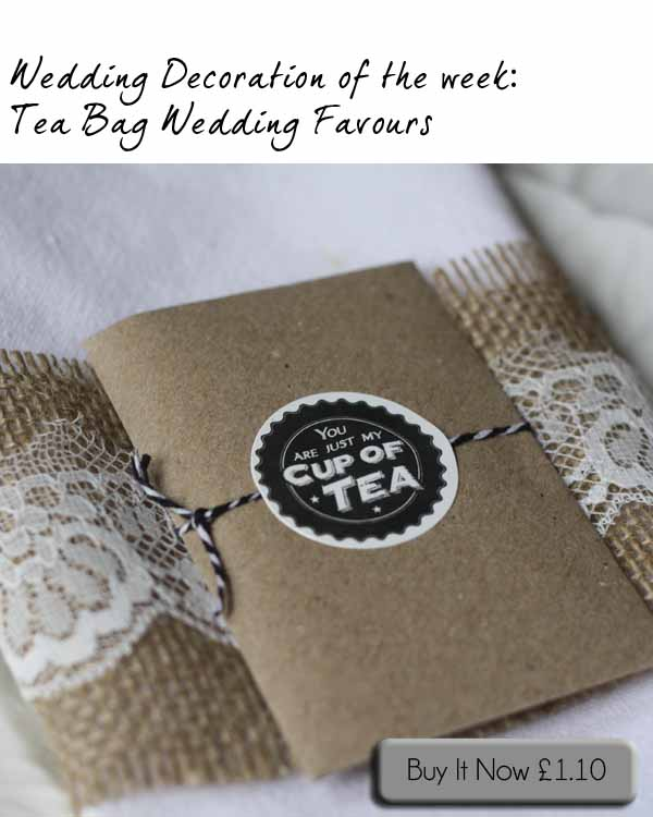 tea bag wedding favours the wedding of my dreams blog