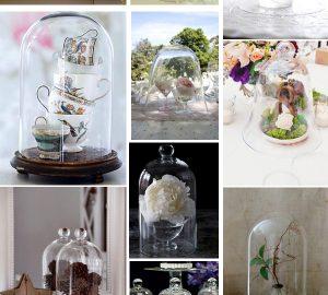 bell jars at weddings