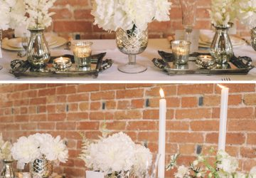 mercury silver glass vases wedding candle sticks wedding table decorations copy