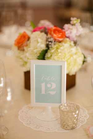 mint green and peach wedding inspiration  (10)