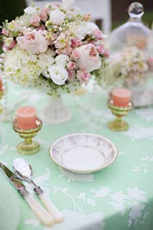 mint green and peach wedding inspiration  (18)