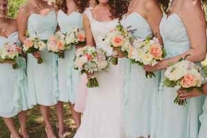 mint green and peach wedding inspiration (2)