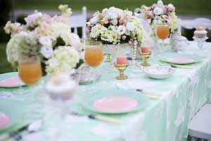 mint green and peach wedding inspiration  (3)