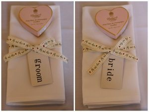 stamp luggage tags name cards wedding