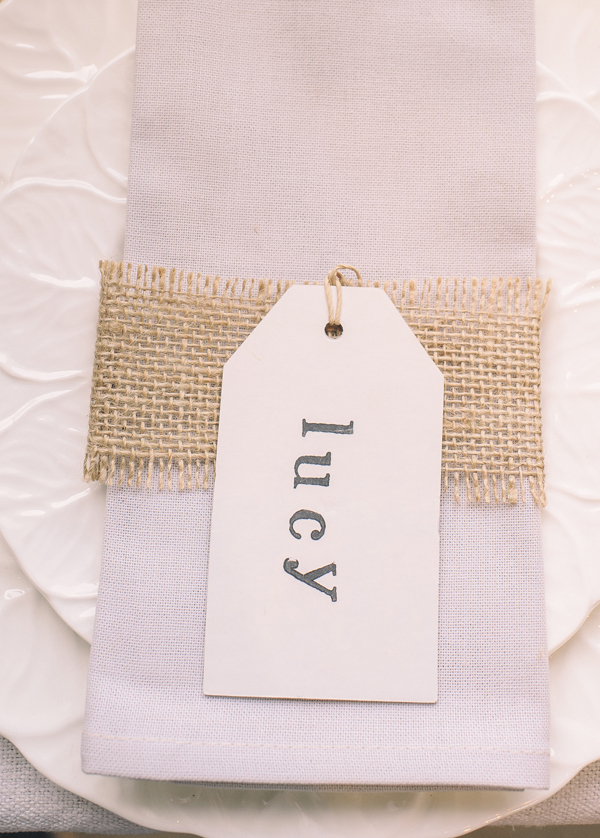 wedding place cards luggage tags