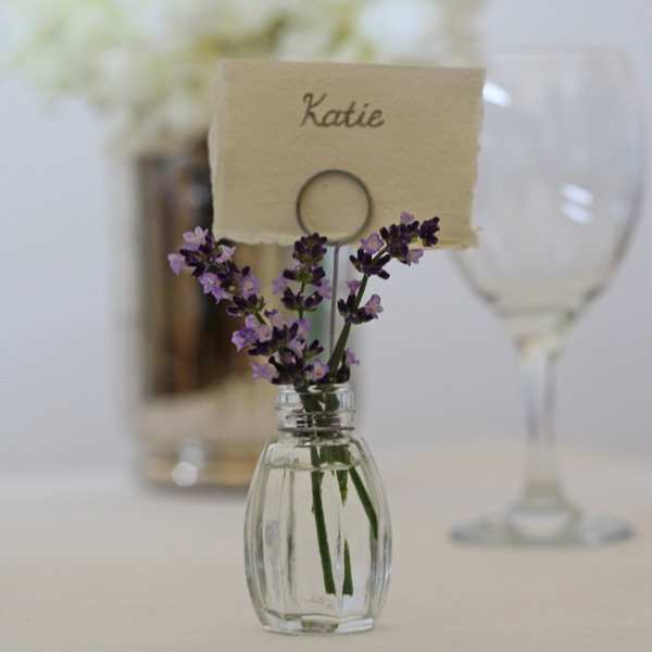 place card holders wedding favours