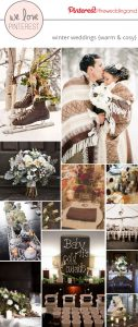 winter wedding inspiration warm and cosy