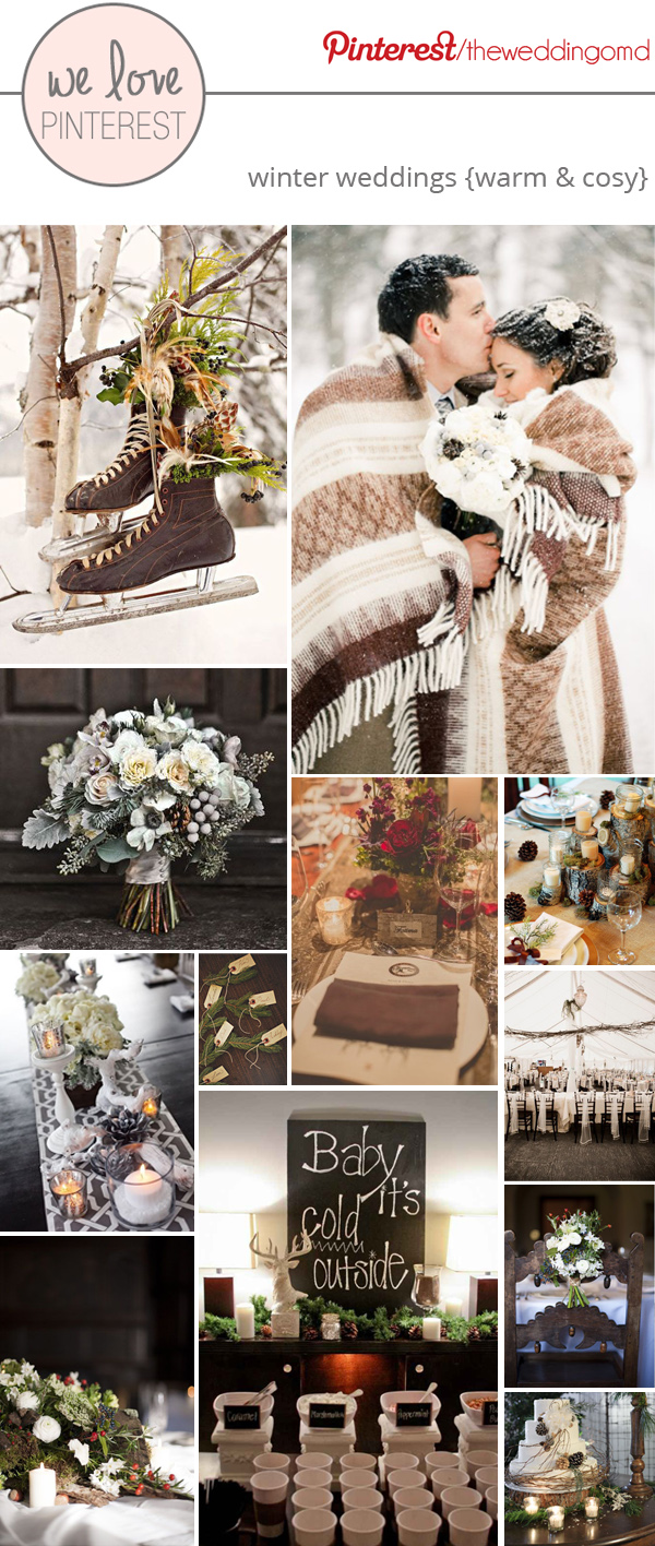 Winter wedding decoration ideas warm and cosy junglespirit Image collections