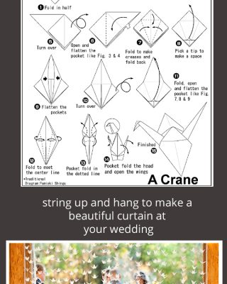 how to make origami paper crane wedding step by step copy