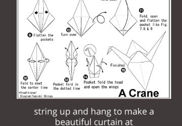 how to make a paper crane step by step youtube