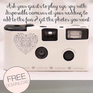 disposable camera printable photo list