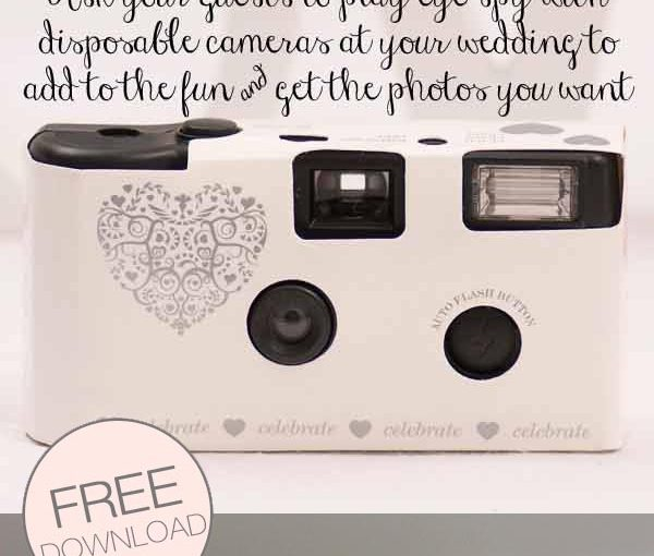 disposable camera printable photo list