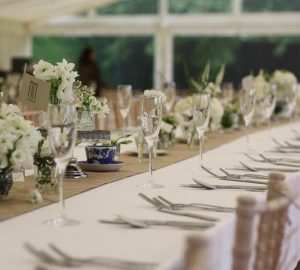 hessian burlap table runners