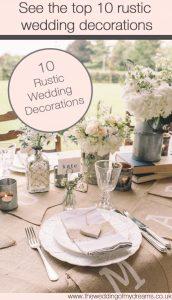top ten 10 rustic wedding decorations for sale