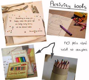 wedding activities for children activity books