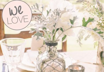 mercury silver vase bottle wedding centrepieces bottles
