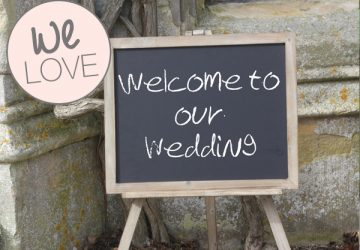 BLACKBOARD EASEL wedding sign welcome to wedding copy