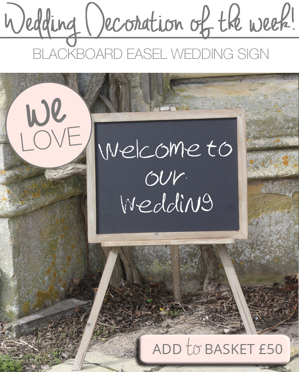 BLACKBOARD EASEL wedding sign welcome to wedding copy