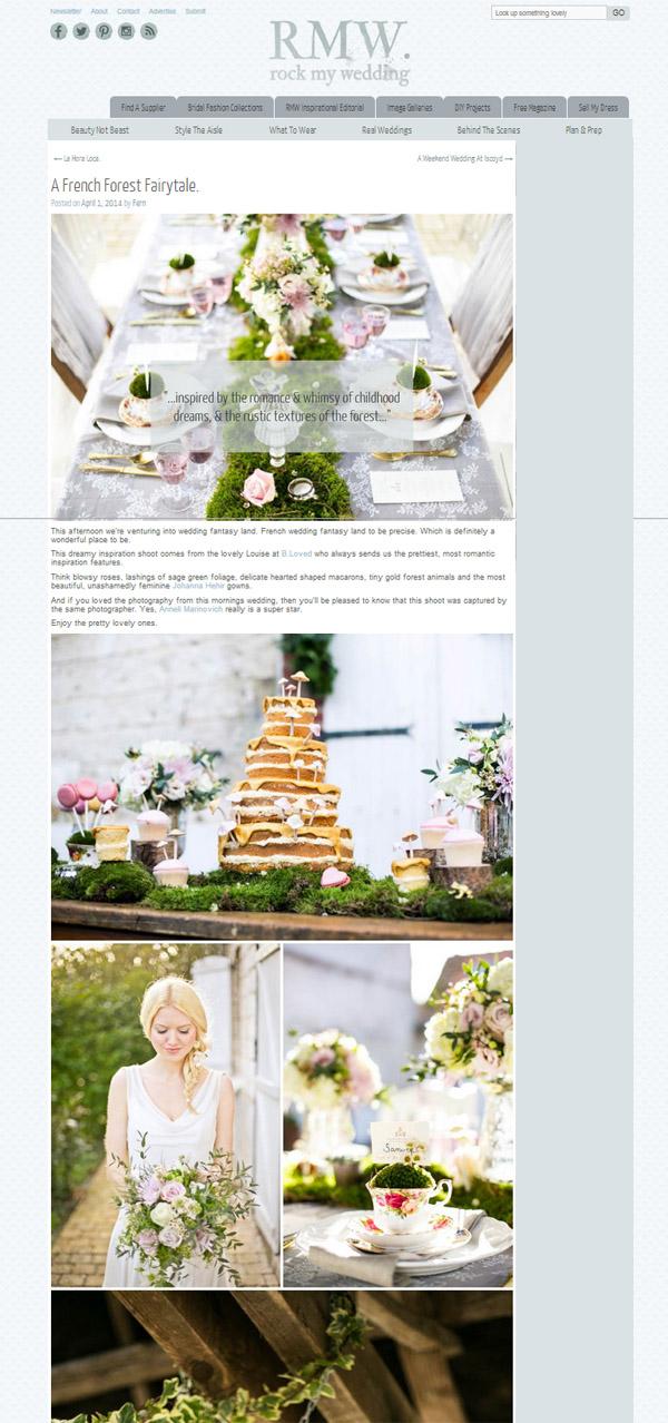 rustic woodland forest fairytale wedding ideas