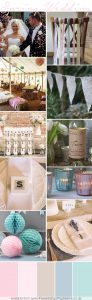 spring wedding decorations colour pallette