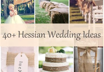 40 hessian wedding ideas copy