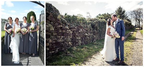 Grey Bridesmaids Dresses Cornwall Real Wedding - The Wedding of my Dreams Pastel Wedding Decorations