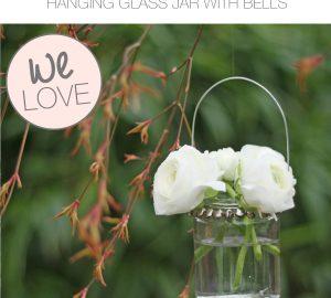 hanging glass jam jars wedding decorations copy