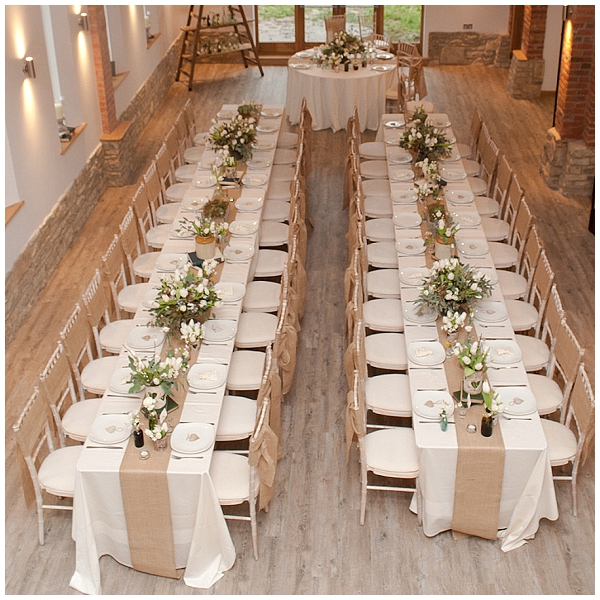 hessian table runners hessian wedding ideas