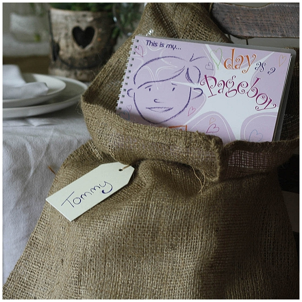 hessian wedding ideas burlpa sacks for childrens activities and games