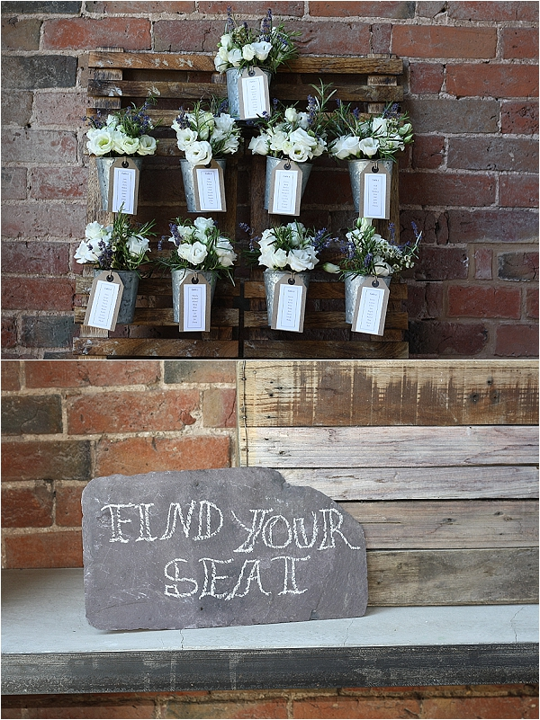 rustic wedding table plan flower pots plants the wedding of my dreams