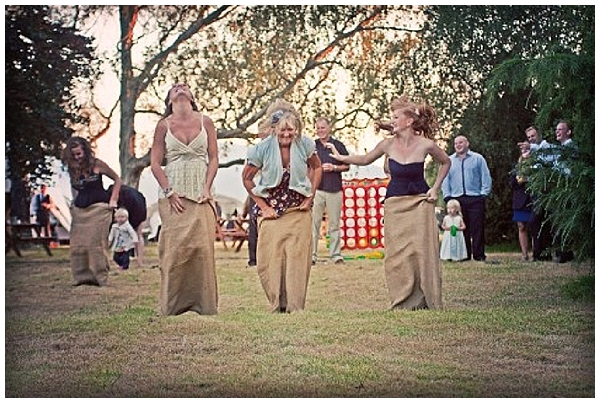 sack races outdoor lawn games for weddings hessian wedding ideas