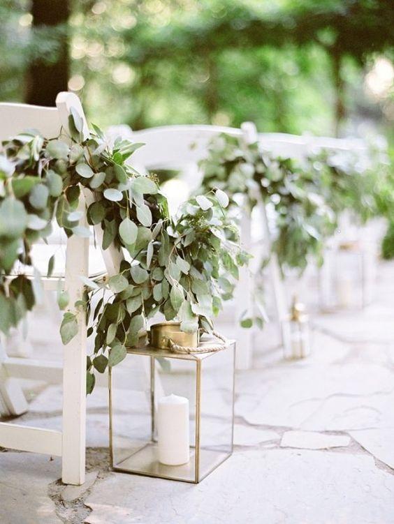 brass lanterns outdoor wedding ceremonies