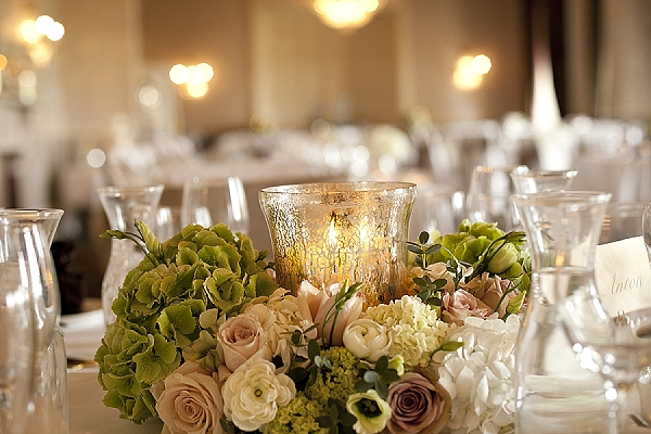 Real Wedding Mercury Silver Glass Decorations Amp Details
