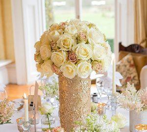 gold sequin vases mercury silver vases