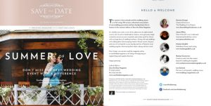 save the date magazine summer of love 2014