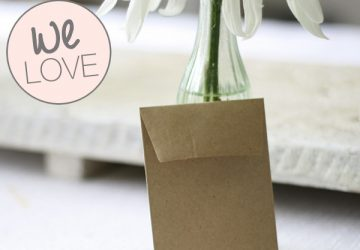 seed packet favours envelopes brown cheap