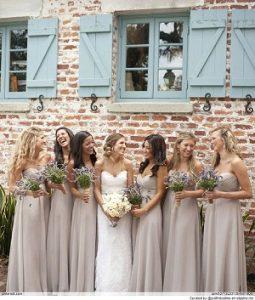 taupe wedding decorations