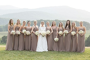 taupe wedding decorations