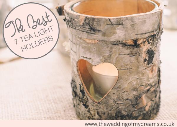 the best 7 tea light holders for weddings