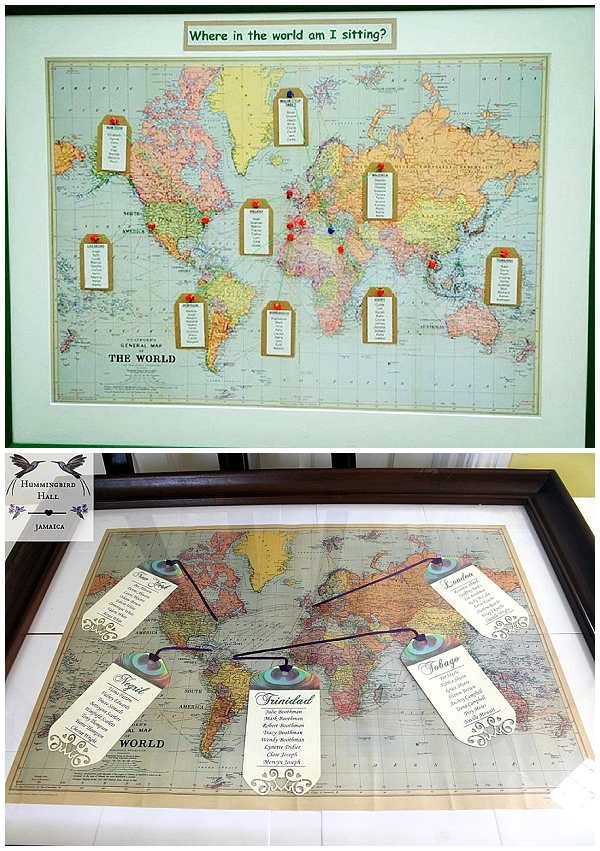 world map wedding table plans the wedding of my dreams