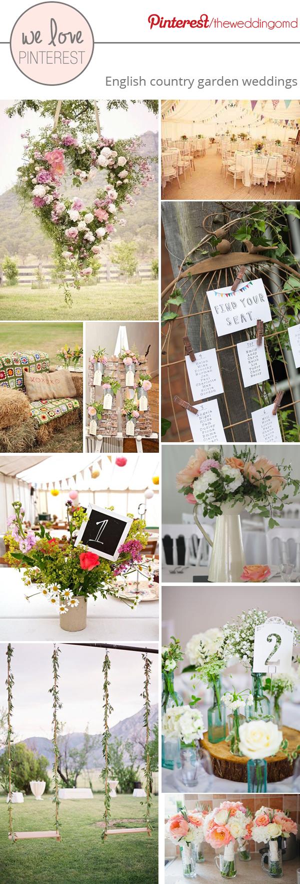english country garden decorations & wedding ideas
