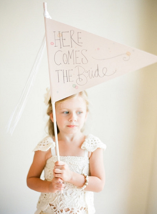 wedding ceremony signs ideas flower girl