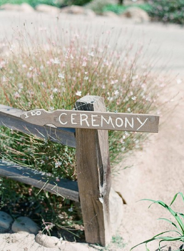 wedding ceremony signs ideas