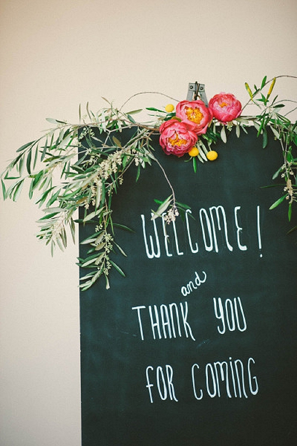 wedding ceremony signs welcome
