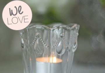 clear glass tea light holders for weddings