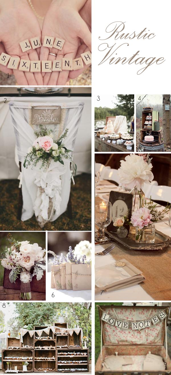 vintage wedding ideas rustic vintage wedding decorations - UK ...